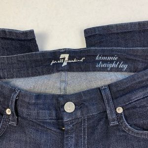7 For All Mankind Jeans - 7 For All Mankind Kimmie Straight Leg 31/34 inseam
